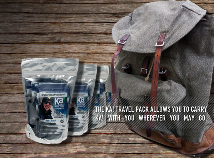 NEW! The Ka! Travel Pack To Go